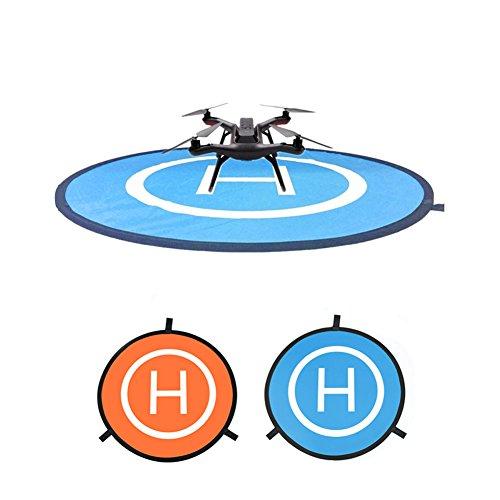 Crewell Landepad Spark Helipad Drohnen Landepads für DJI Phantom Spark 3DR Solo, 55 cm