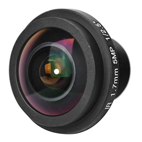 5mp 1.7mm 170 ° Lente Gran Angular Seguridad Fisheye View Lente de cámara de Ojo de pez para cámara CCTV