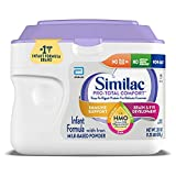 Similac Pro-Total Comfort Infant Baby Easy to Digest Formula Powder, with Iron,...