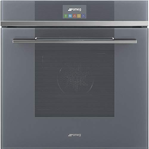 Smeg SFU6104TVS Linea Aesthetic Multi-Function Convection Oven with 2.8 Cu. Ft Capacity, 24-Inches