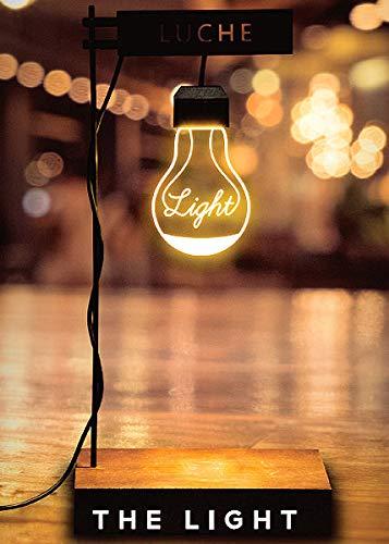 Aqua-Tropica ATLL-001 LUCHE The Light - Pflanzenleuchte, Wachstumsleuchte, Nachtlicht, Pflanzenlampe, indirekte Beleuchtung, Wabi-Kusa, Nano-Aquarium, Mondlicht