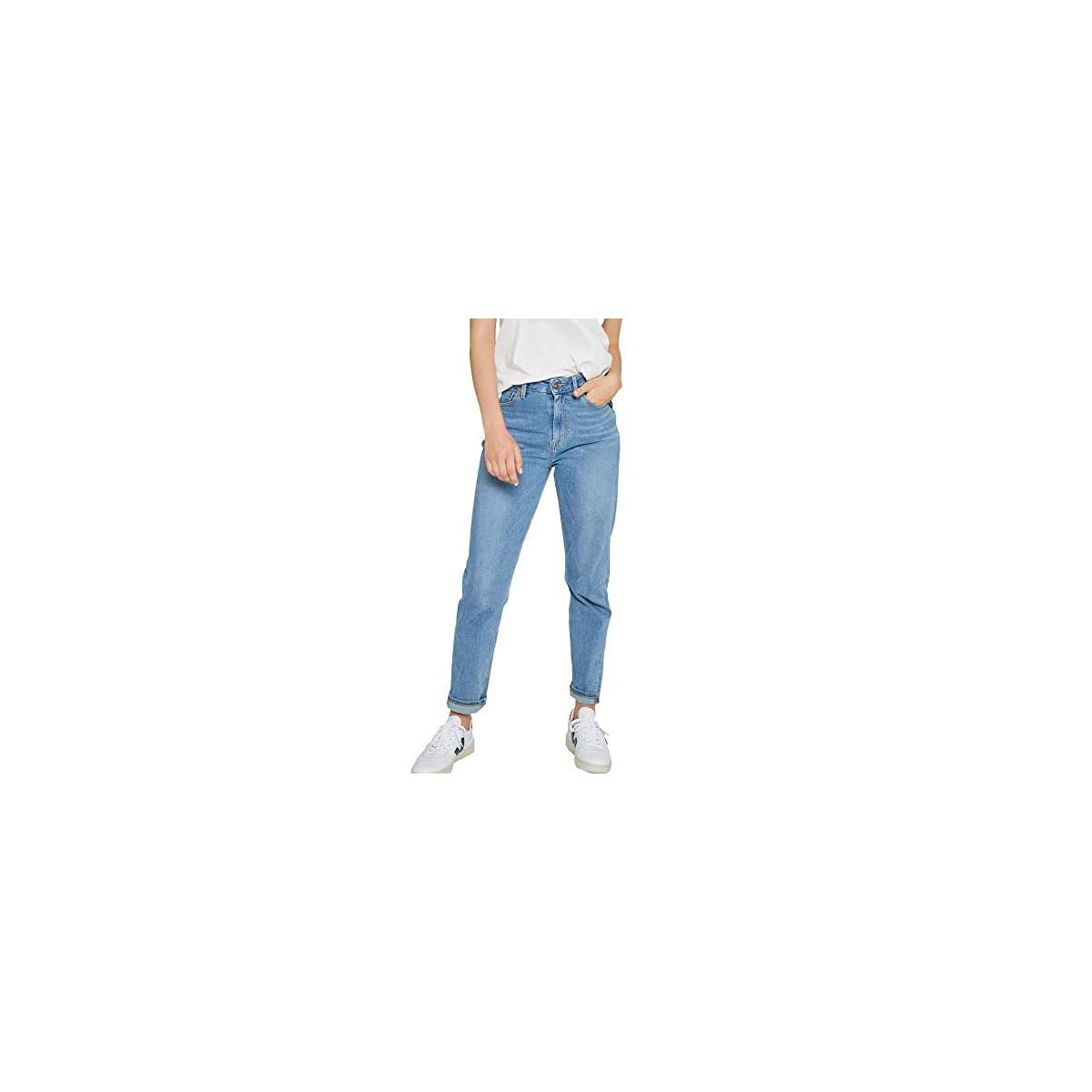Kuyichi Damen Jeans Nora Bio-Baumwolle Faded Blau