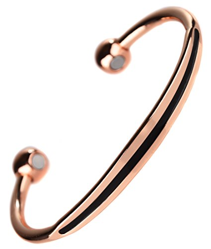 topt mag Bracelet cuivre 6 Aimant 3000g Homme celte Celtic Breton Motard Biker