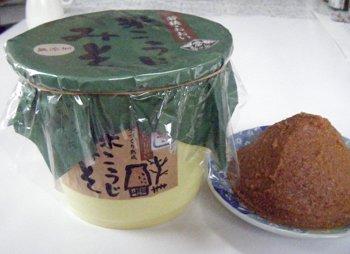 おおい夢工房 米こうじみそ 2kg樽(内容:1.8kg) -C-