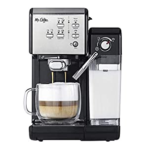 Mr Coffee One Touch Espresso and Cappuccino Machine