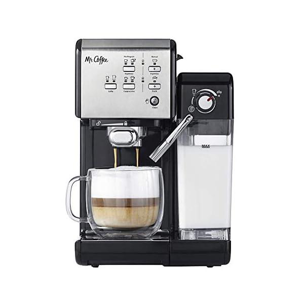 Mr Coffee One Touch Espresso and Cappuccino Machine