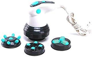 SuperMega® Relax Spin Tone - Masajeador espalda Anticelulítico Eléctrico + 4 cabezas