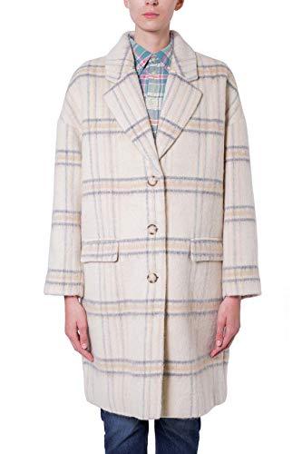 Levi's Cocoon Damen-Mantel aus Wolle, Weiß X-Small