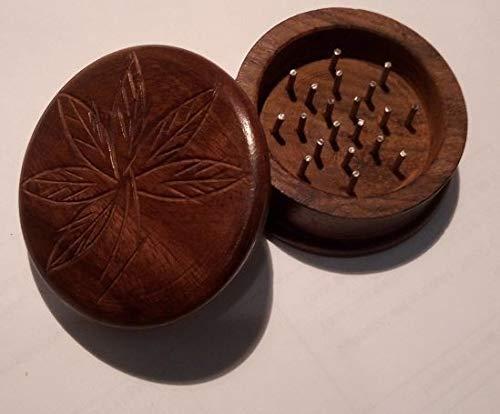 Imagen del producto Grinder madera (picadora hecha a mano) tallada