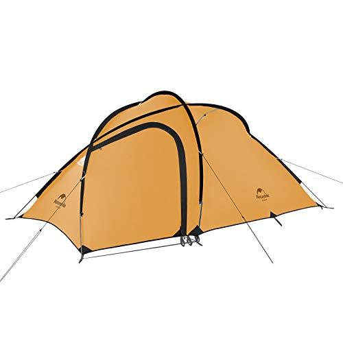 Naturehike Hiby3 2-3人用/Hiby4 4人用キャンプ テント アップグレード版 アウトドア登山テント ゆったり前室 タープスペース付き二層構造 防雨 防風 防災 グラウンドシート付き