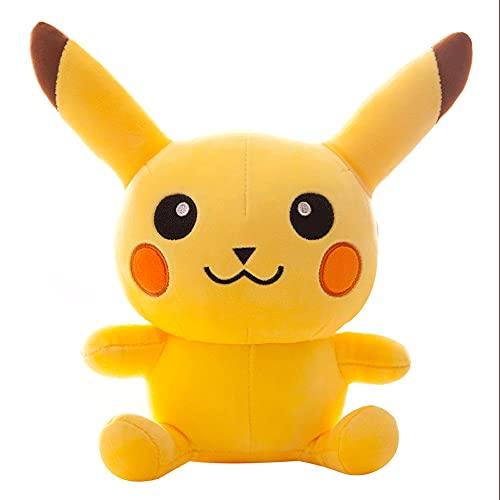 BUYH Lindo Super Suave Super Lindo Pikachu muñeca Pikachu muñeco de Peluche muñeca Reina Cama Almohada para Dormir
