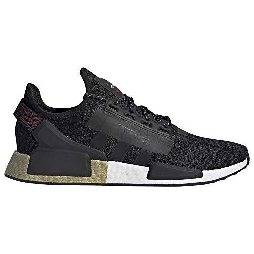 adidas Originals NMD_R1 V2 Zapatos CORE Negro/Core Negro/Oro Metálico, negro (Core Negro/Core Black/Gold Metálico), 42.5 EU