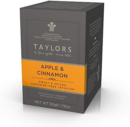 Taylors of Harrogate Apple Cinnamon Herbal Tea 20 Count Pack of 1 product image