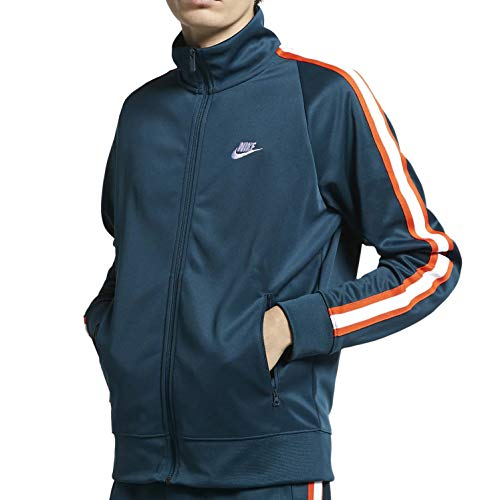 Nike M NSW He Jkt PK N98 Tribute, Giacca Uomo, Nightshade/White, XL