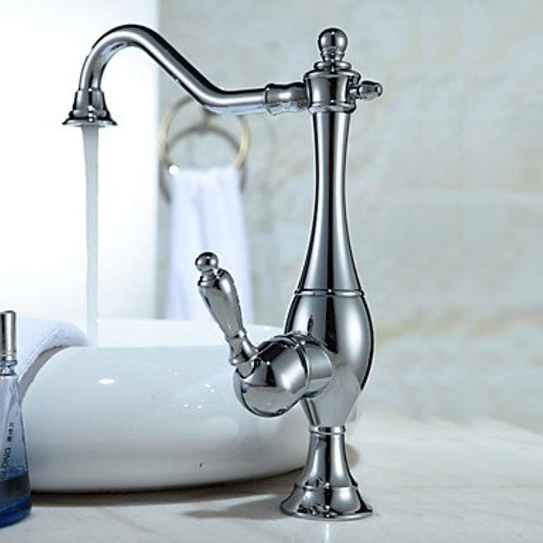 SYX Vintage Style Curve Design Kitchen Faucet