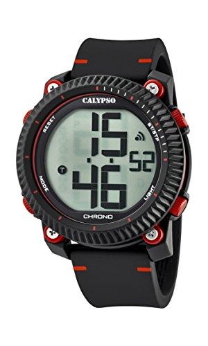 Calypso Reloj Digital para Hombre de Cuarzo con Correa en Plástico K5731/3