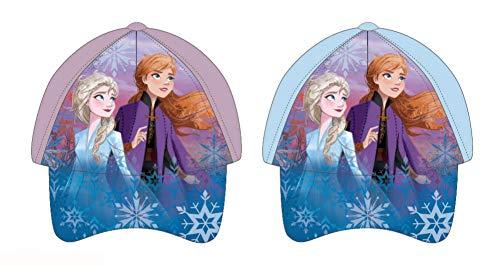 Disney Gorra Frozen, Multicolor, Infantil para Niñas