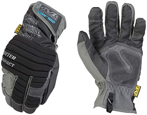 Mechanix Wear - Hiver Impact Gants (Medium, Noir/Gris)