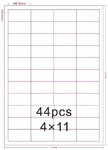 Candle Labels Handmade Your Text Added 24 Paper Stickers 63mm x 34mm Rectangles
