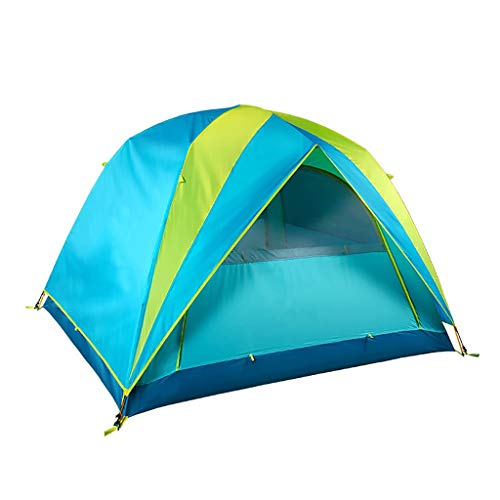 NBgy Tienda de sombrilla portátil 3-4 Personas,Tiendas for Camping Familiares Diseño de protección contra el Viento y la Lluvia,Adecuado for Senderismo, Senderismo de Aventura, Esmeralda