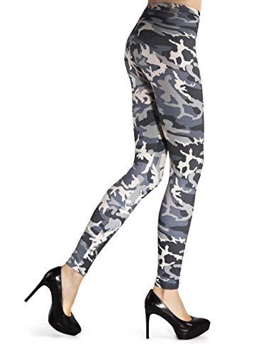 Primula dames elegante camouflage hoge taille legging