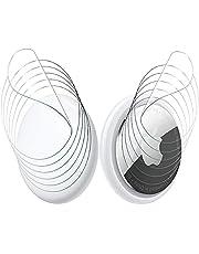 NEWZEROL 6 Set di Pellicola Protettiva Compatibile per AirTag, AntiGraffio [Senza Bolle] [Copri Entrambi i Lati] Protezione Massima TPU Pellicola Flessibile Trasparente per AirTag