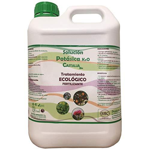 Castalia Jabón Potásico, Solución Potásica K2O, 5 L