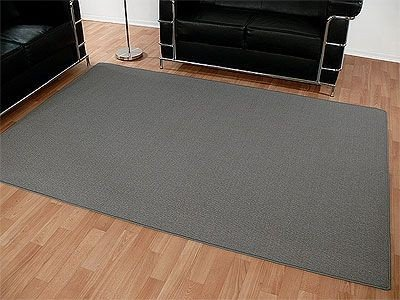DEKOWE Sisal Natur Teppich Grau in 24 Größen