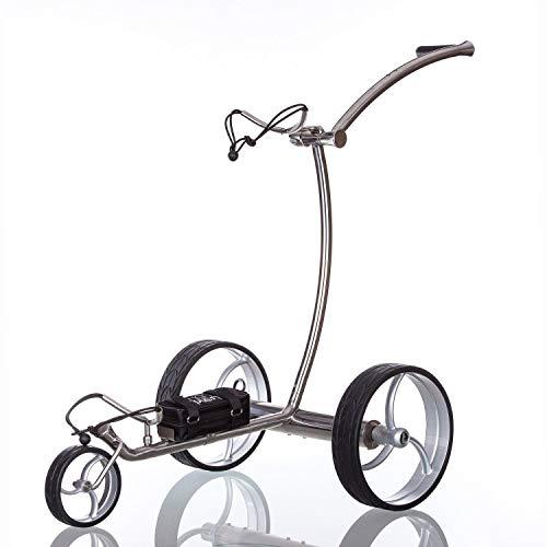 Trendgolf Elektro Golf Trolley Streaker Silber, mit aktiver Bergabfahrbremse - 5