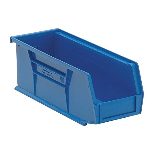 Quantum Storage Systems QUS224 Ultra Stack and Hang Bins Set of 12 Blue