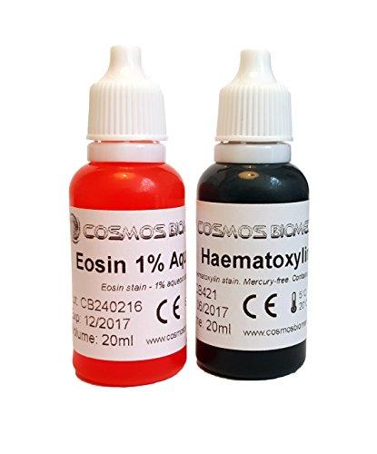 Eosin & Haematoxylin - Juego de 2 manchas de 10 ml