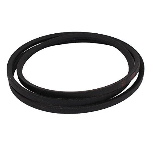 sourcingmap/® machine /à bande caoutchouc A77 Transmission A type route Vee V noir ceinture 1//2 x 77
