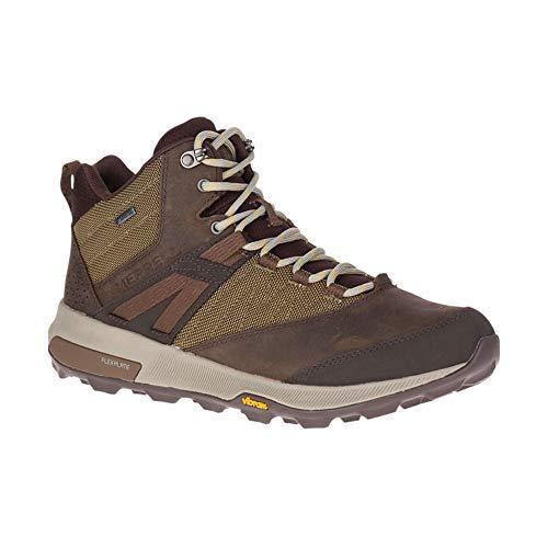 Merrell Zion Mid GTX, Zapatillas de Trail Running Hombre, Brown, 41 EU