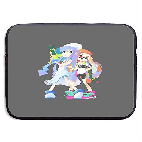 Splatoon X Squid Girl Laptop Sleeve Case Compatible for 13 15 Inch MacBook Notebook Computer Tablet Protective Bag