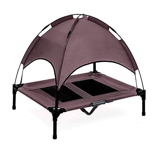 Jolitac Elevated Dog Bed with Removable Canopy