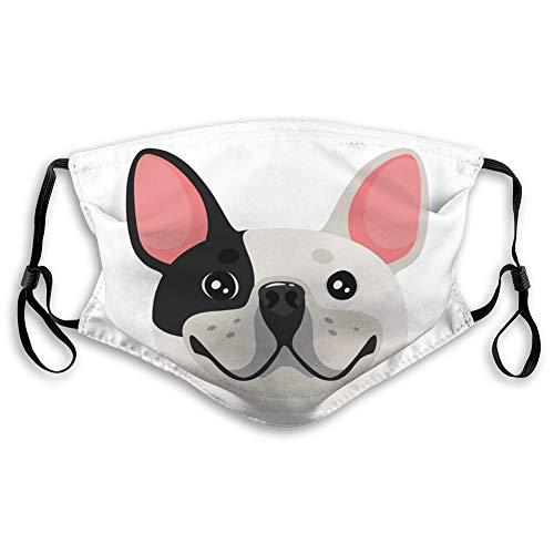 Walnut Cake Atemschutz Luftstaub Gesicht Mundschild Hund Haustier Kopf Symbol Elastische Abdeckung