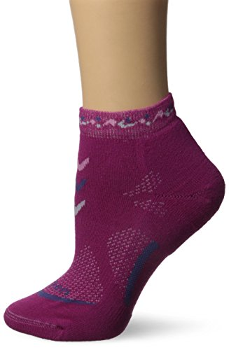 Lorpen Leichte Mini-Socken für Damen, beere, S