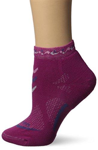 Lorpen leichte Mini-Socken für Damen L beere