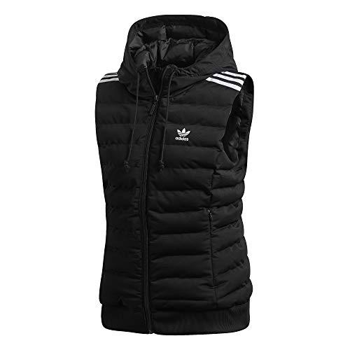 adidas Slim Vest Weste für Damen 32 Schwarz