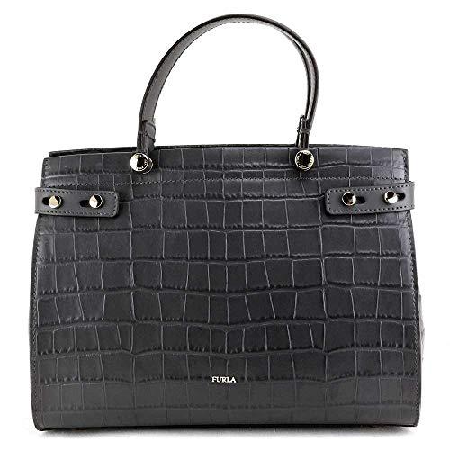 Furla Tasche LADY Damen Leder Asphalt - 1033882