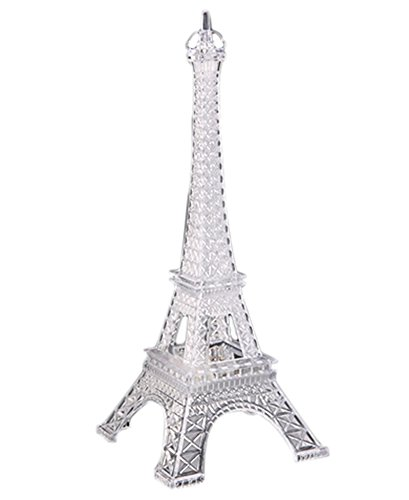 Bluelans Christmas Decorations 7 Colour Changing LED Clear Eiffel Tower Decoration Light Night Light