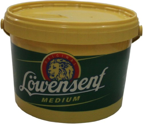 Löwensenf medium, 1er Pack (1 x 2500 ml)