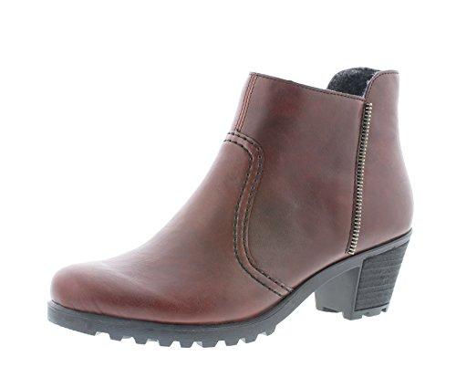 Rieker Damen Ankle Boots Y8070,Frauen Stiefel,Ankle...