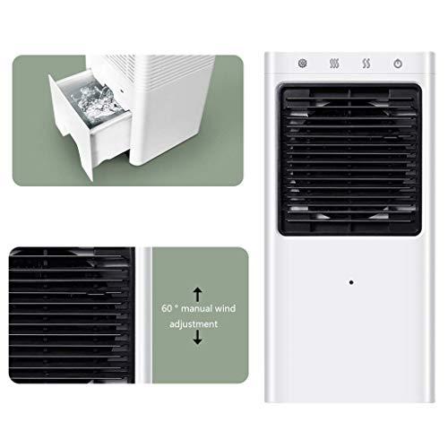LQH Portátil Ventilador del Aire Acondicionado, Ventilador de Escritorio pequeño, Conveniente for el hogar, Dormitorio, Oficina, Dormitorio, Coche, Tienda de campaña