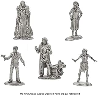 Doctor Who Fourth Doctor and Companions Figures Set for Exterminate! The Miniatures Game