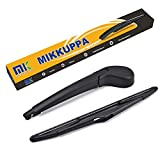For Ford Focus Rear Wiper Arm Blade Set, 2012-2015 - MIKKUPPA Back Windshield Wiper Replacement - All Season Natural Rubber Cleaning Window