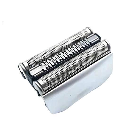 Craftmen 70B/70S Hoja de repuesto y cortador compatible con Braun Series 7 7 70B 70SS 790cc 765CC 720S 790CC-4 Cassette de cabeza de hoja de afeitadora (Sliver)