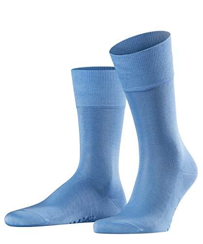FALKE Herren Socken, Tiago M SO-14662, 1er Pack,Blau (Bleue 6543), 45-46