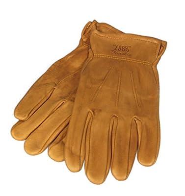 Tuff Mate Gloves Mens Tuff Mate 1888 Authentic Western Deerskin Driver Gloves L Tan