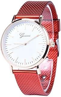 Fashion Watches Quartz Silicone Wristband Watch for Women